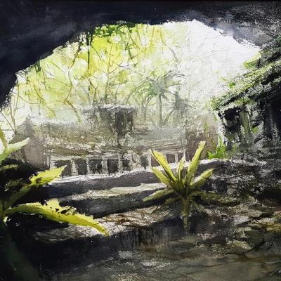 Ruines d'une civilisation...
