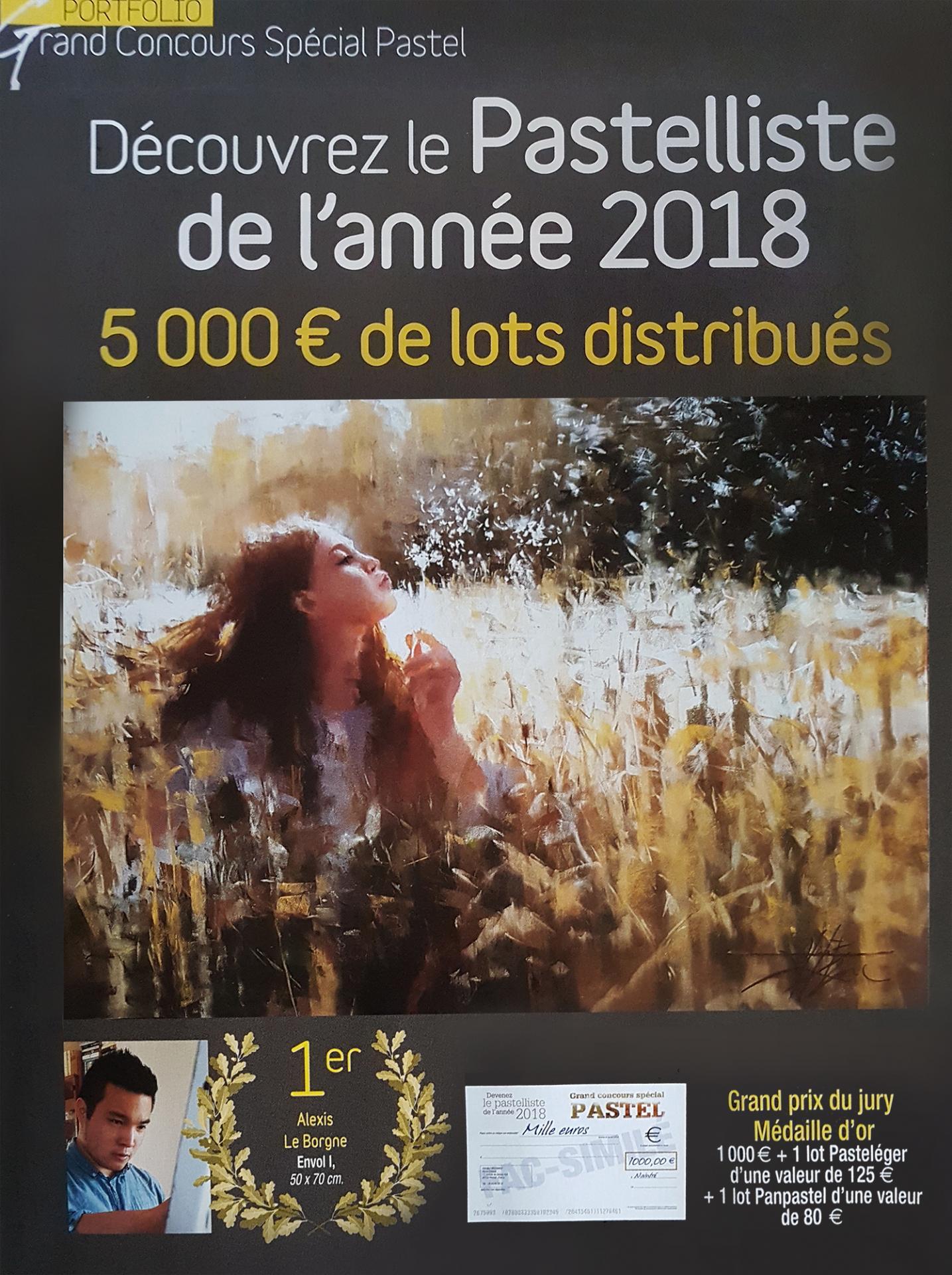 Grand prix Pastelliste 2018
